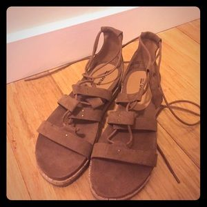 ASOS Shoes - NWOB* Suede gladiator sandals Sz9 From ASOS*